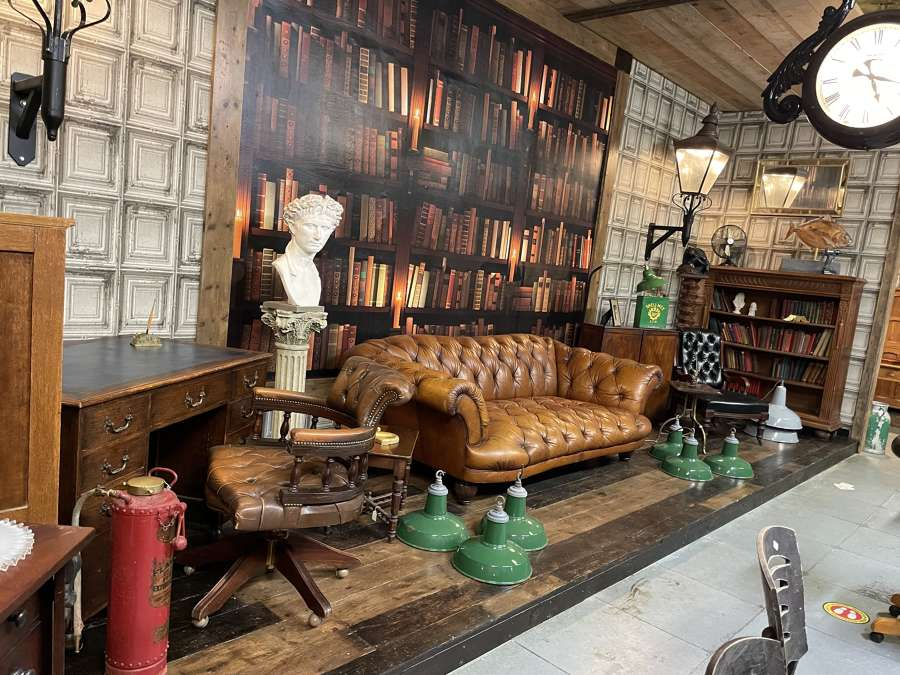 Leather Chairs, Chesterfields, wing back & Sofas