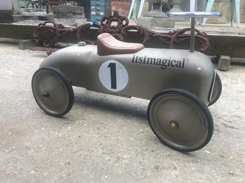 Vintage Children's Ride On Racking Car Itsmagical