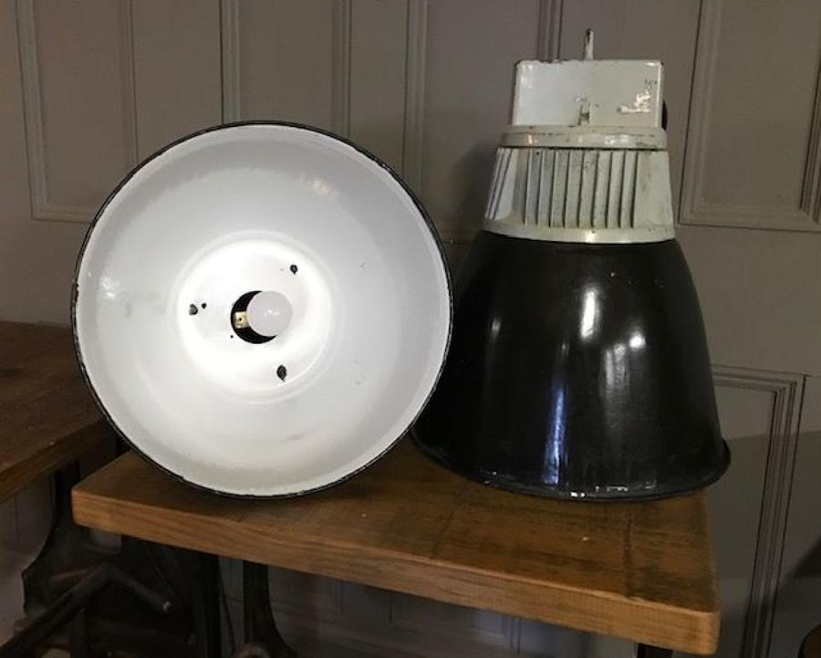 Vintage Industrial Factory Lighting