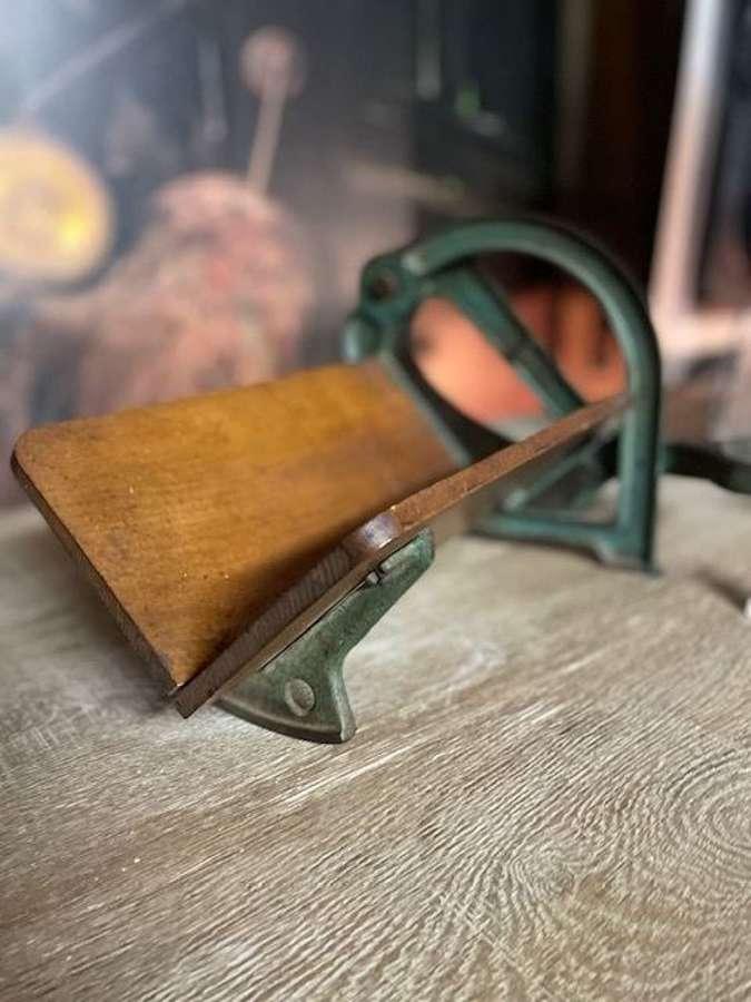 Antique Ginge Bread Guillotine Bread Slice