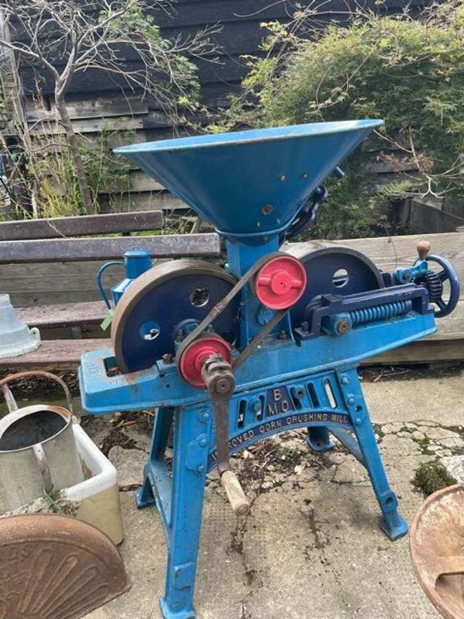 A industrial fully working Bamford Corn grinding mill